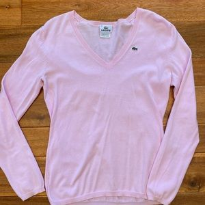 Lacoste Sweater - Light Pink